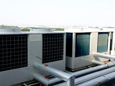 九州通医药公司空气源热水系统工程