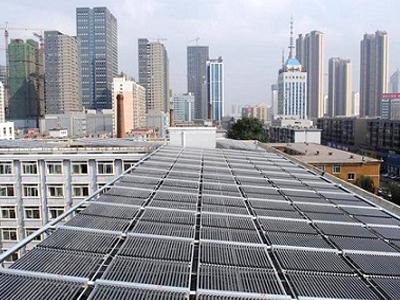 东北大学太阳能热水系统工程