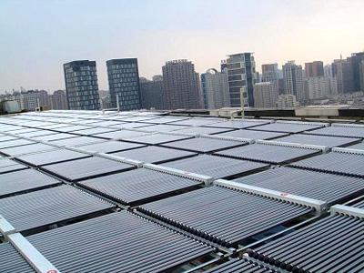 沈阳天丰国际酒店太阳能热水系统工程