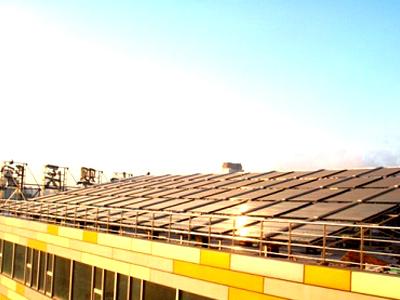 沈阳市妇婴医院太阳能热水系统工程